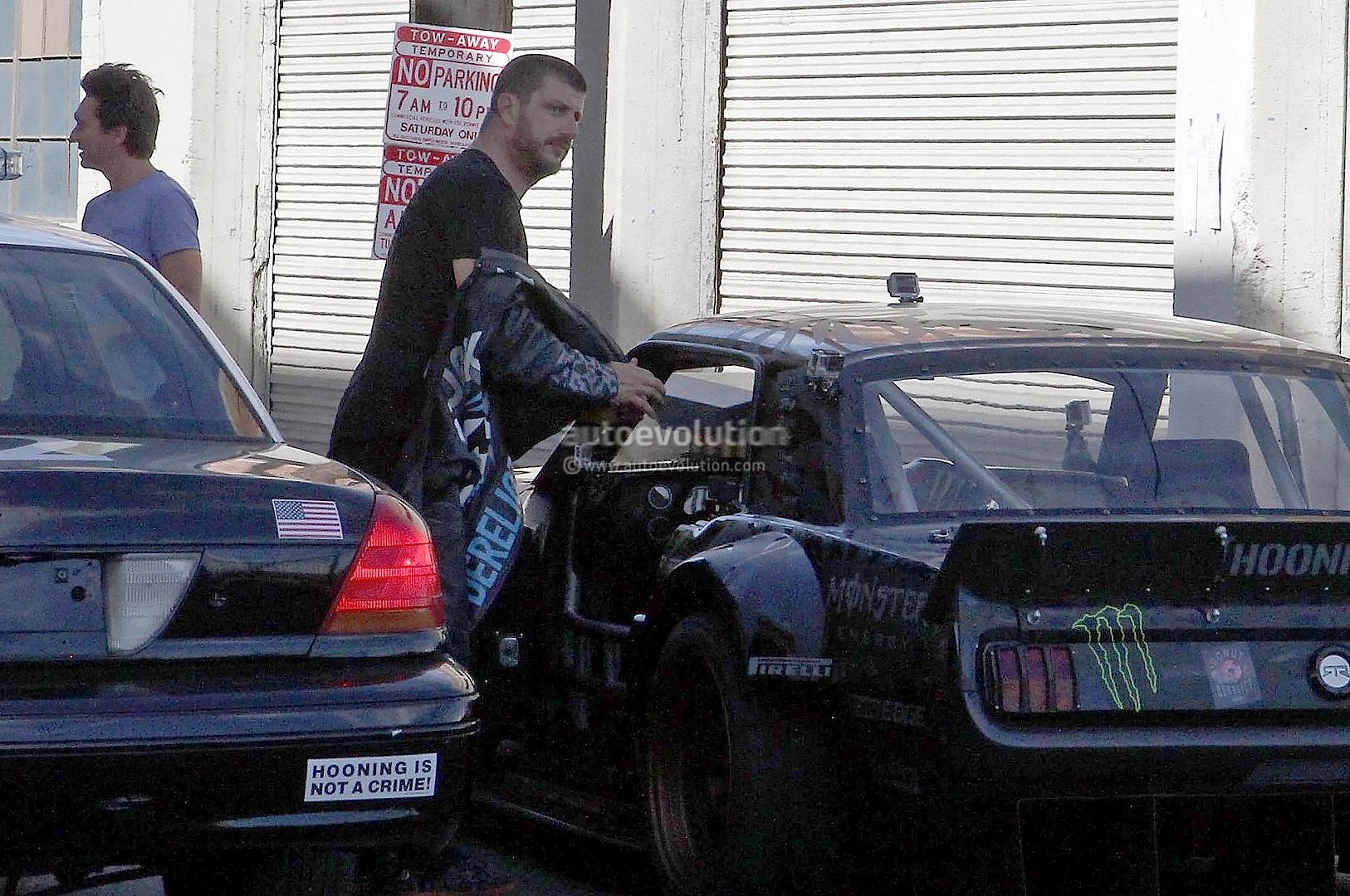 Gymkhana 7 Ken Block Drifting Awd Mustang In La