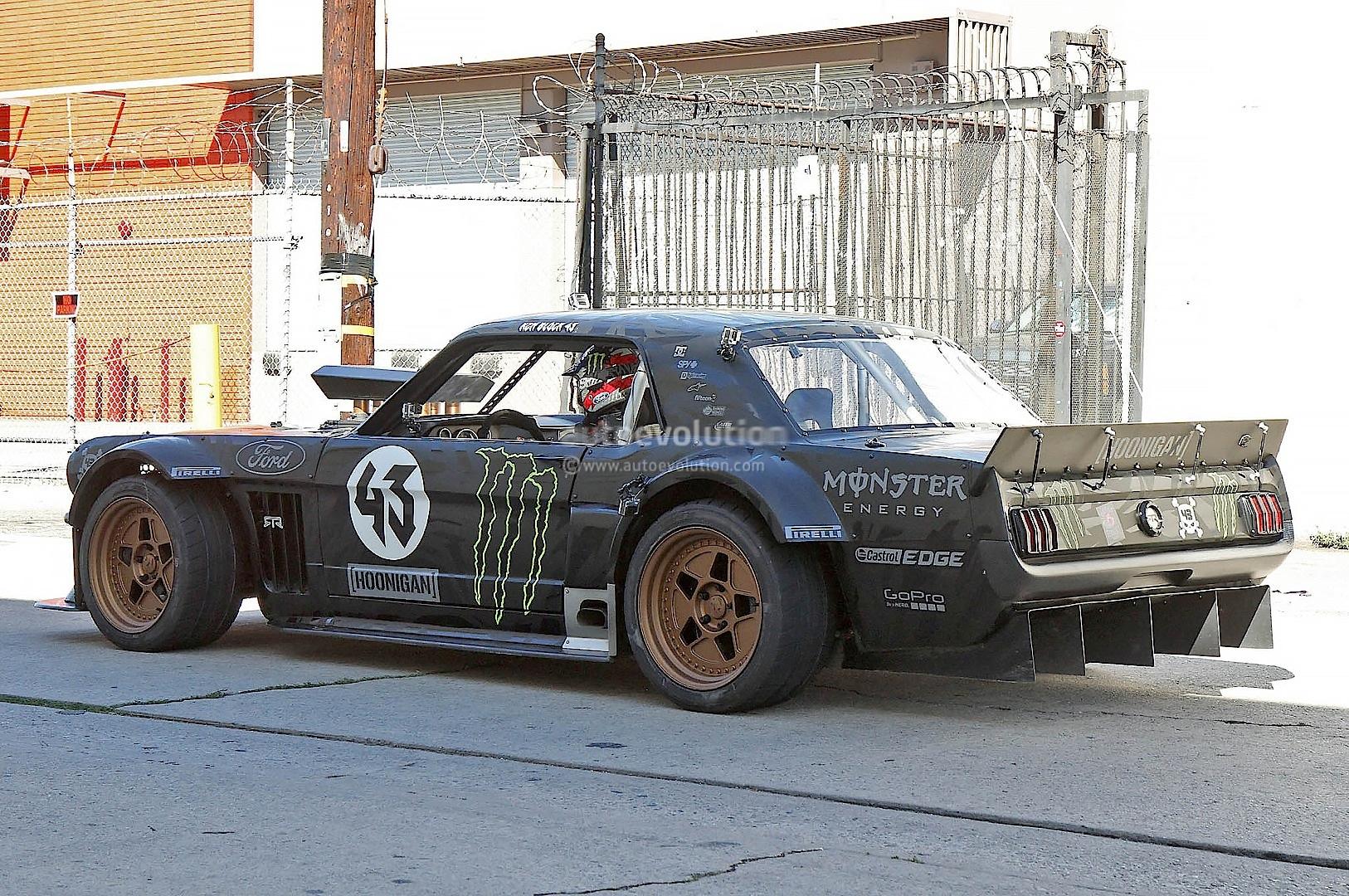 Ken Block 65 Mustang Hoonigan