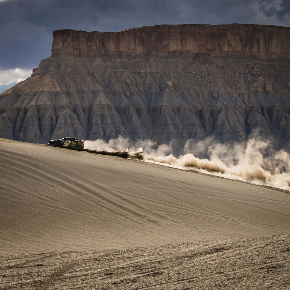 Ken Block vs the Knife Edge in 'Terrakhana'