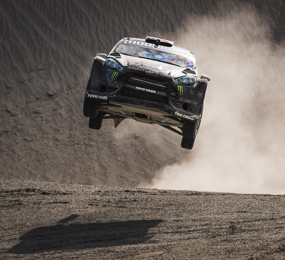 Ken Block Takes Gymkhana Madness Off-Road With Terrakhana