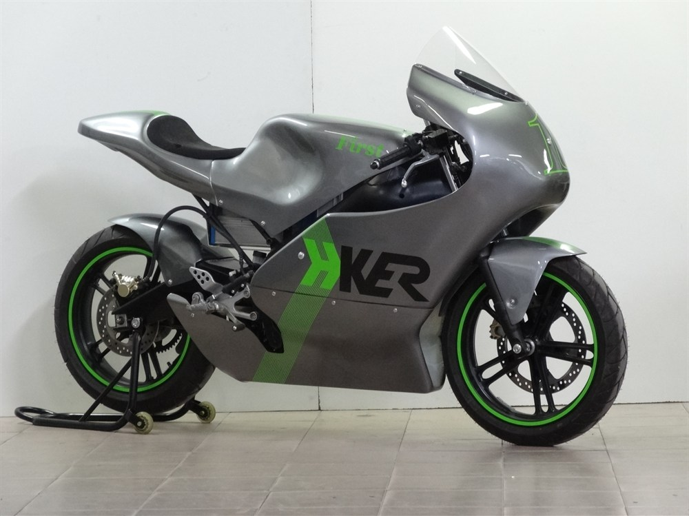 H-Ker First, a New Electric Racing Motorbike - autoevolution