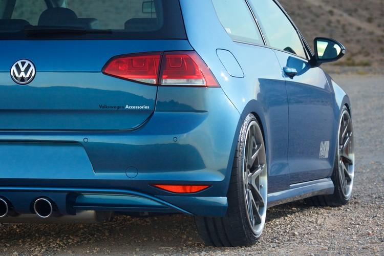H&R Slams the 2015 VW Golf for SEMA - autoevolution