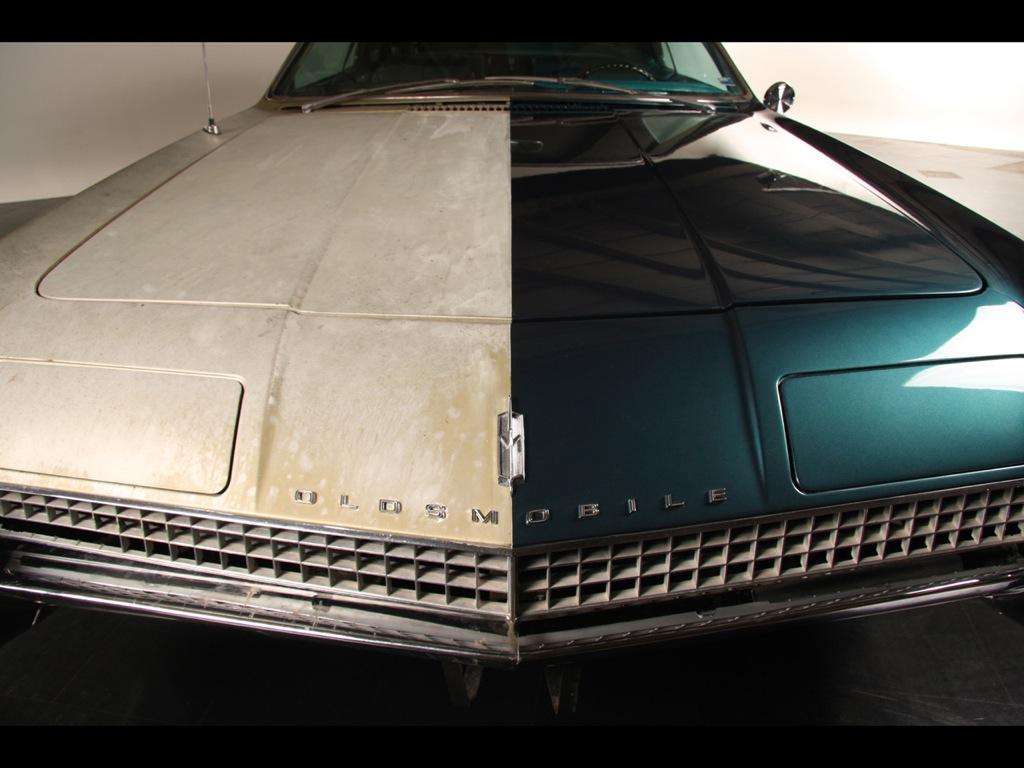 Half-restored 1967 Oldsmobile Toronado Is a Two-faced ...