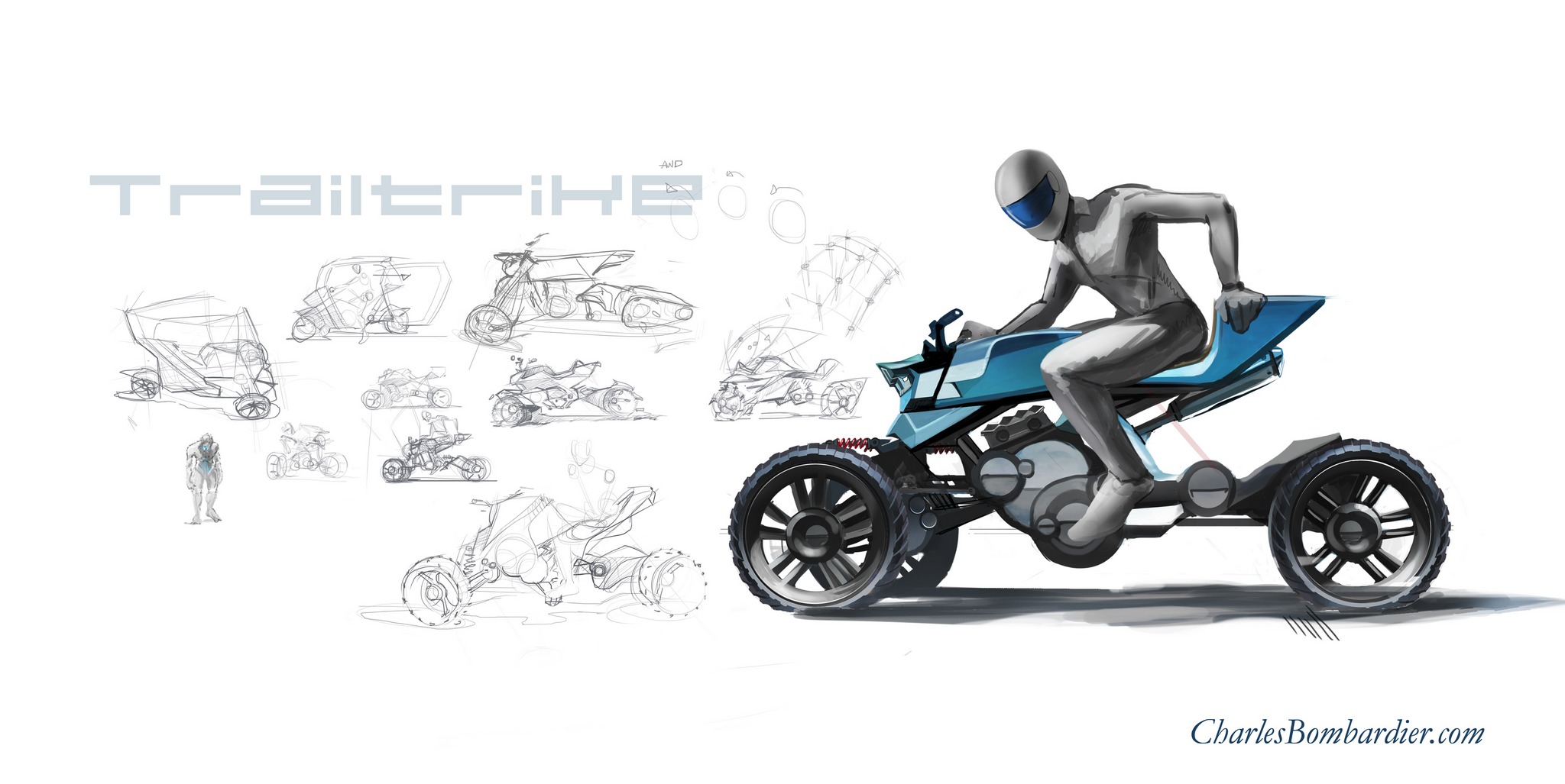 hallelujah  may off-road trikes become real