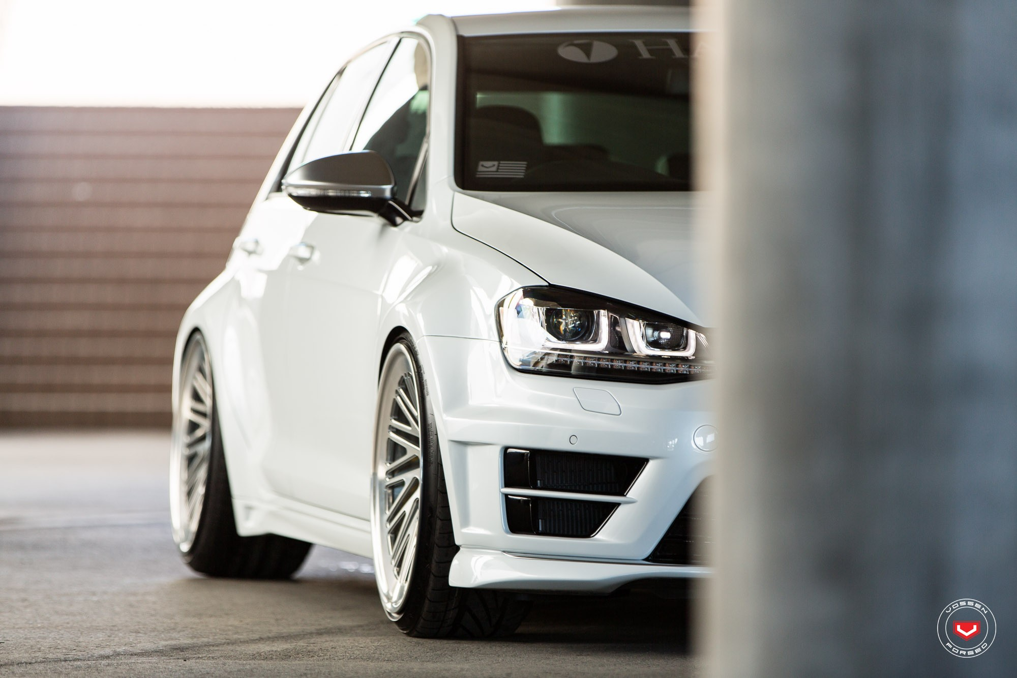 Widebody Golf R Gets Lip Concept Vossen Wheels in Japan - autoevolution