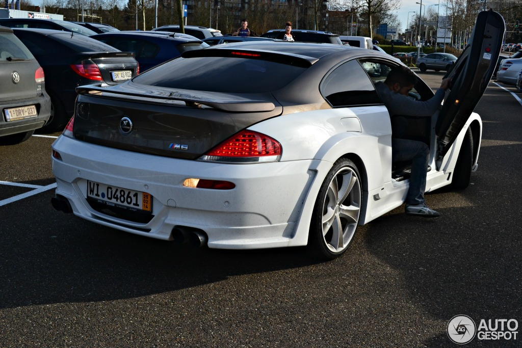 Hamann Bmw M6 Has Lambo Doors In The Netherlands Autoevolution