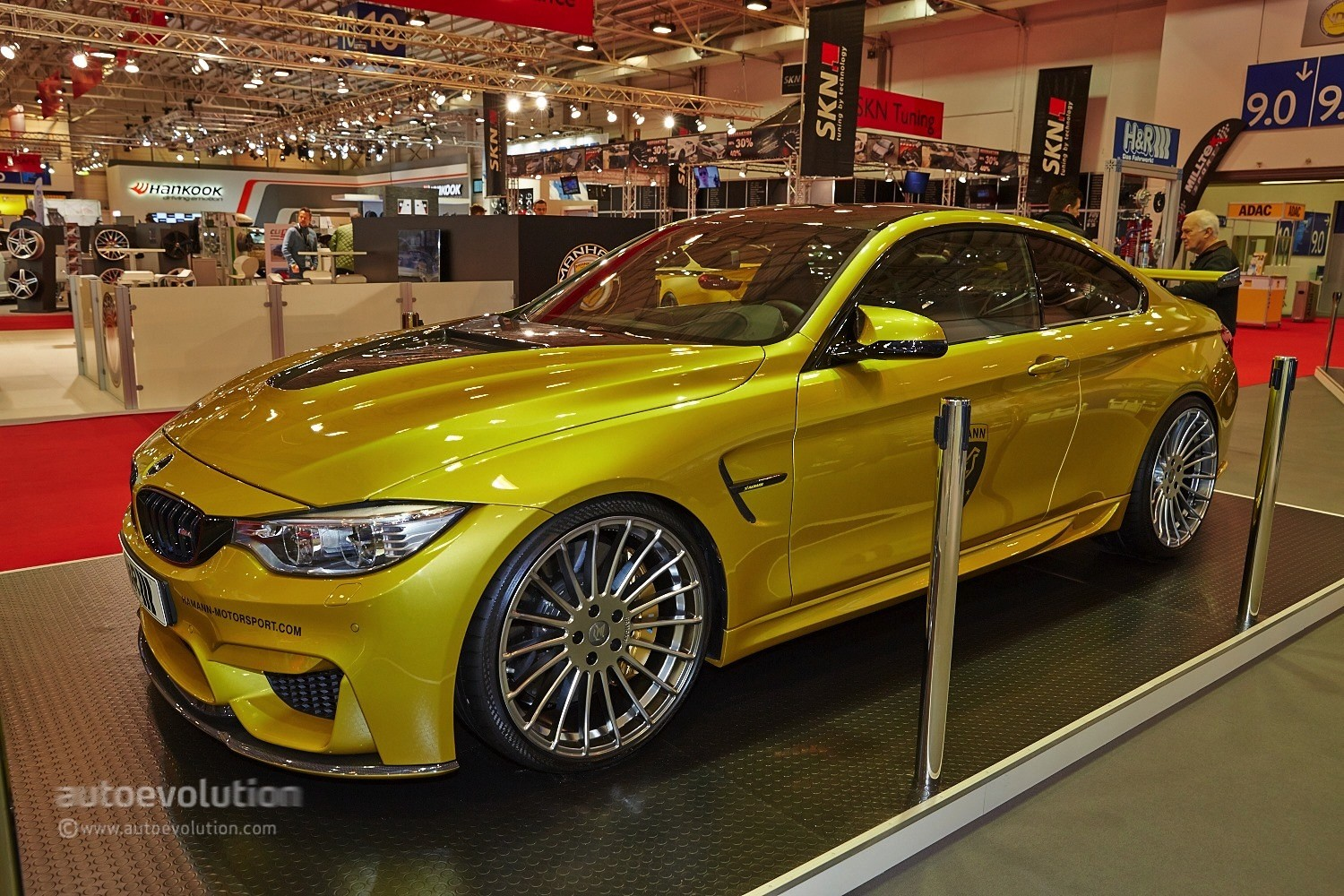 Bmw M4 Gts For Sale >> Hamann Brought Its Winged 517 M4 to the Essen Motor Show ...