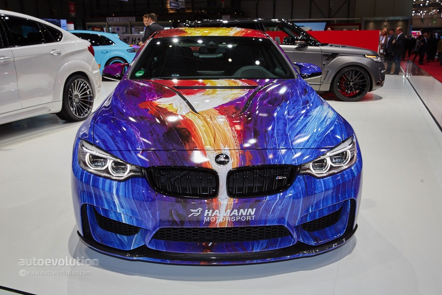 Hamann Brought Out A Color Explosion Atop A Bmw M4 In