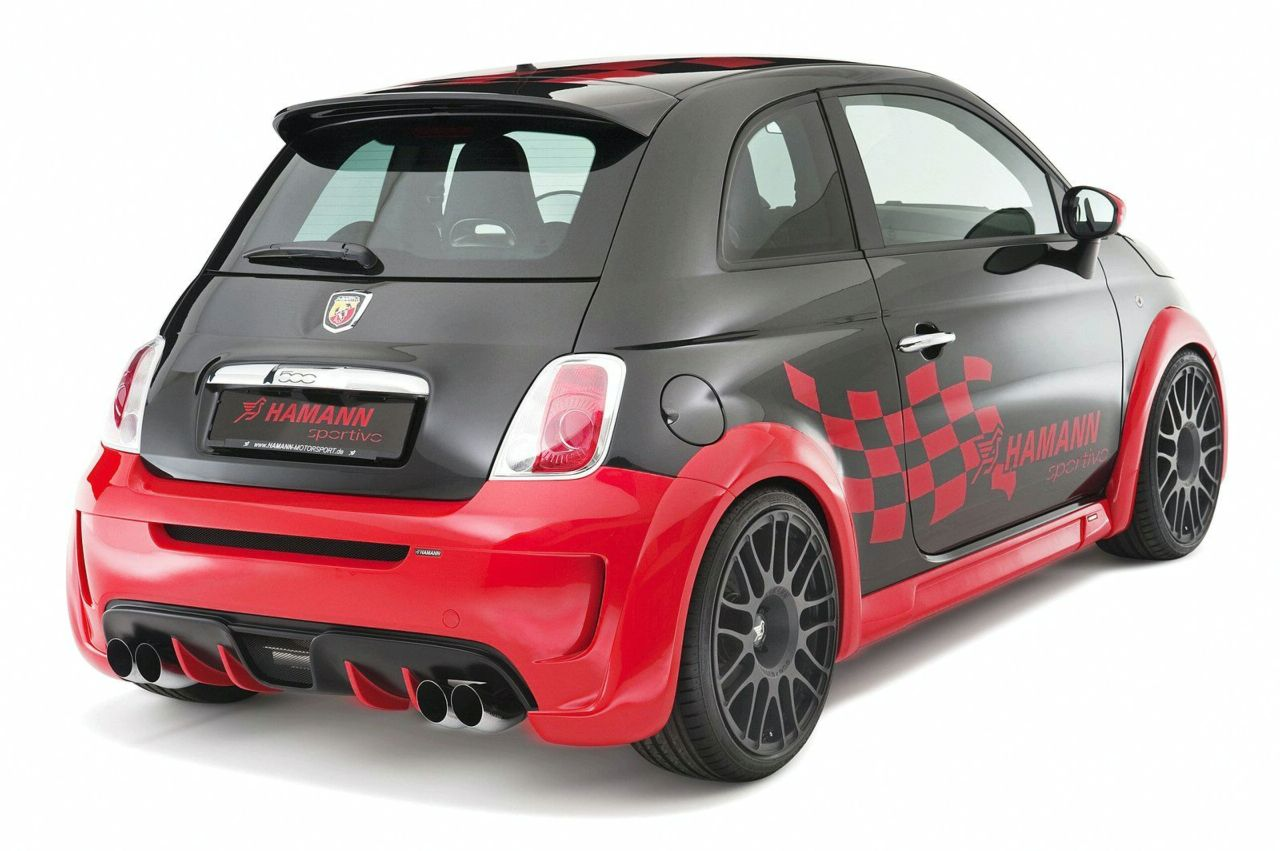 hamann fiat 500 abarth and fiat 500 abarth esseesse. Black Bedroom Furniture Sets. Home Design Ideas