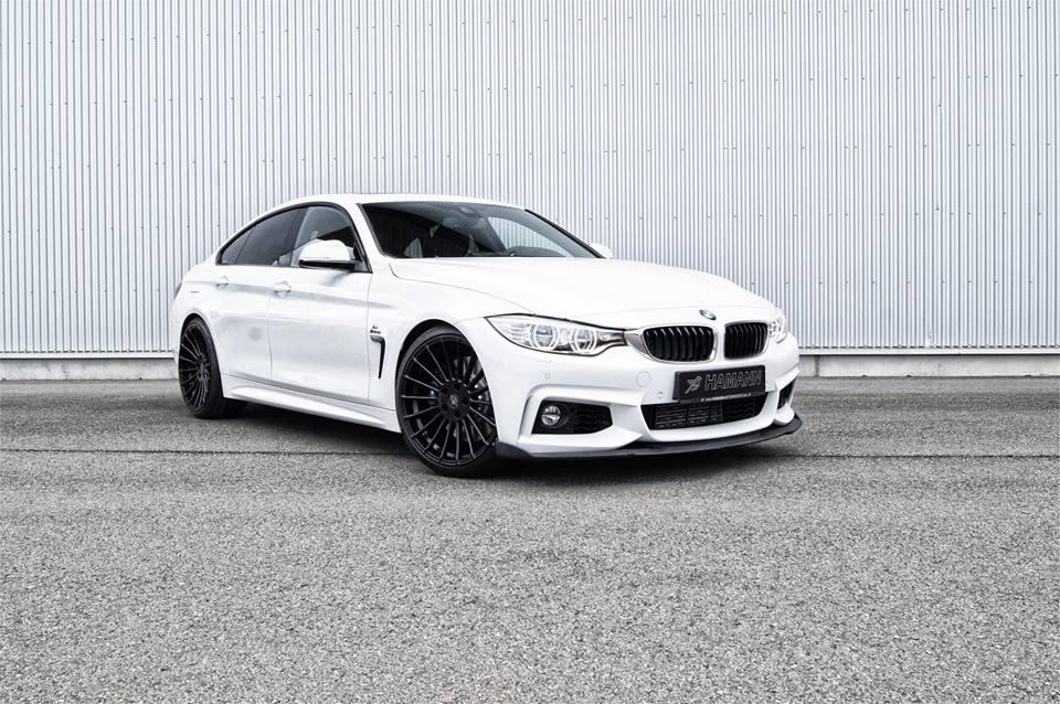 BMW 4 Series Gran Coupe By Hamann