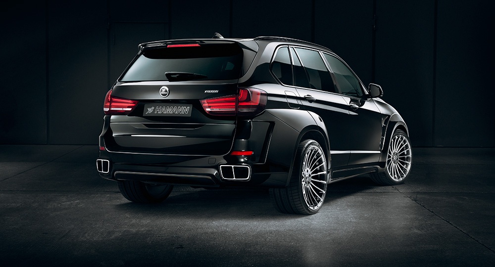Hamann Introduces BMW F15 X5 Widebody Kit - autoevolution
