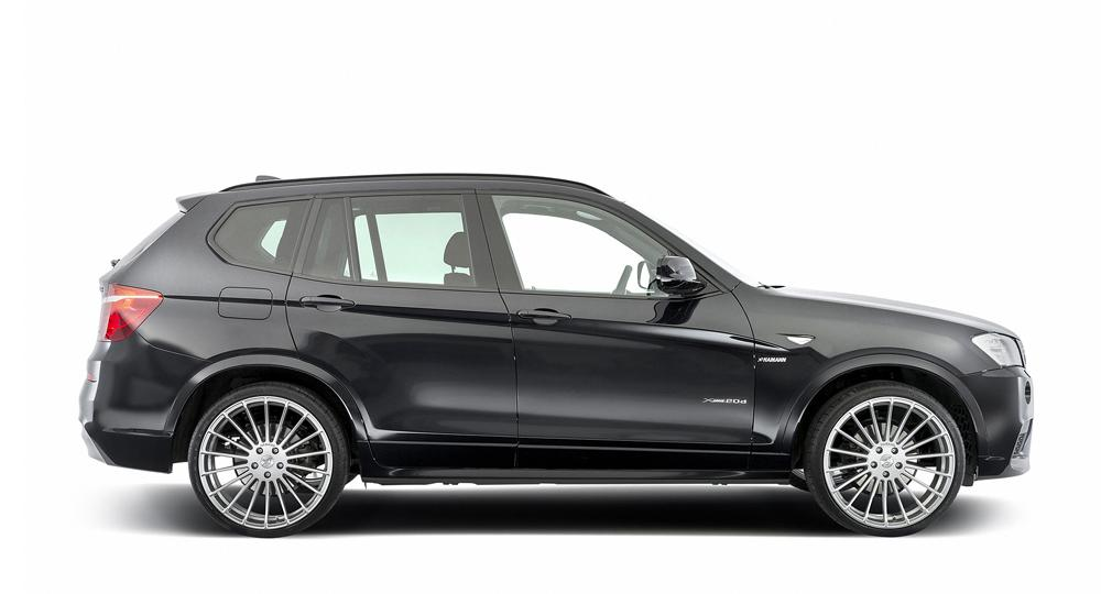 hamann introduces bmw f25 x3 upgrades autoevolution. Black Bedroom Furniture Sets. Home Design Ideas