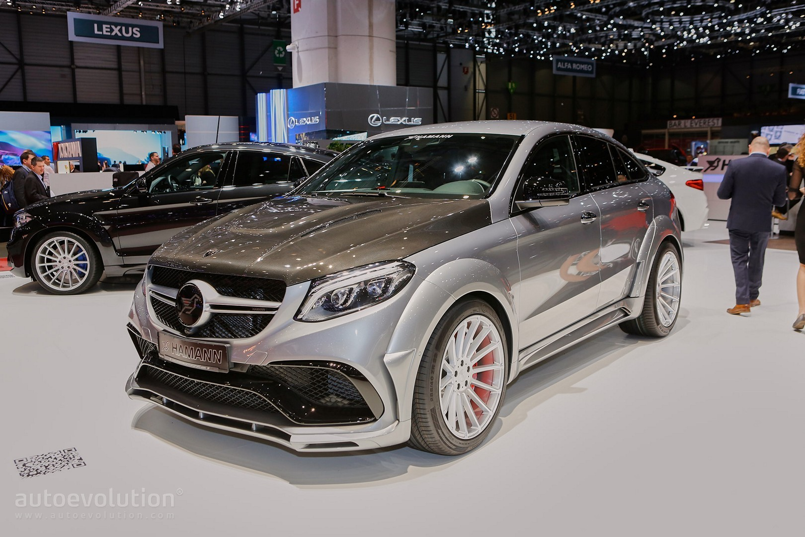 Hamann Is All About Tuning Bmw And Mercedes Sports Activity Coupes In Geneva Autoevolution