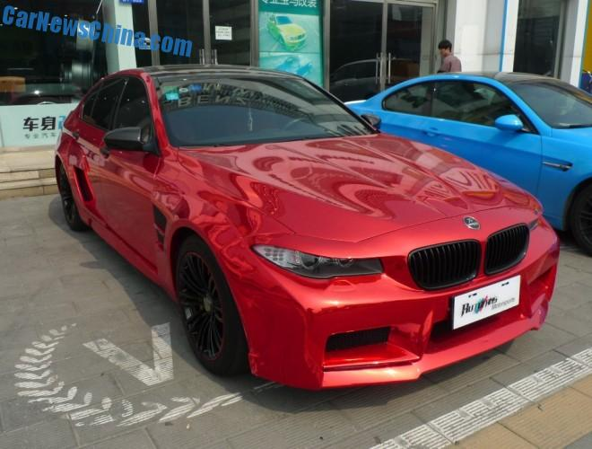 Hamann Mission Bmw M5 Spotted On Beijing S Tuning Street