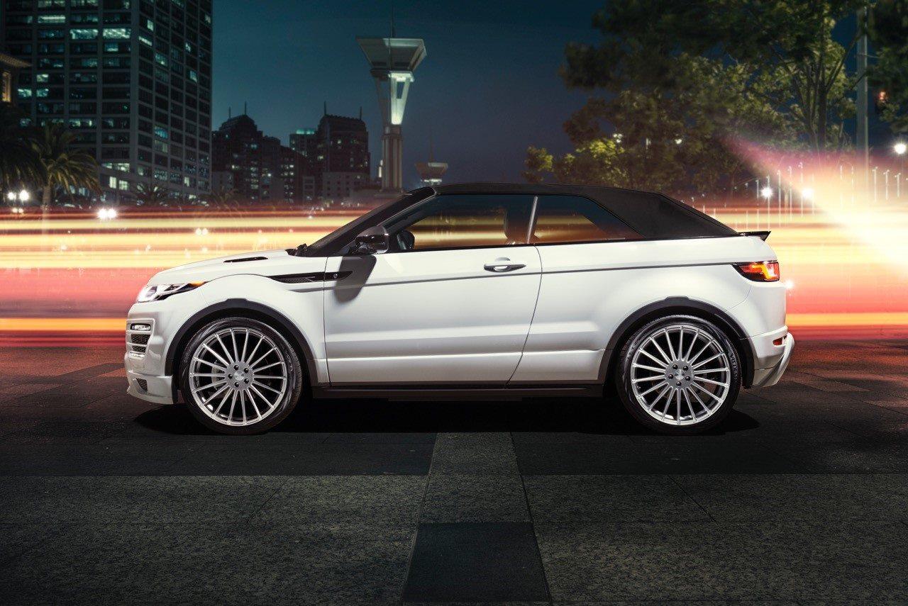 Hamann Range Rover Evoque Cabrio Makes Video Debut