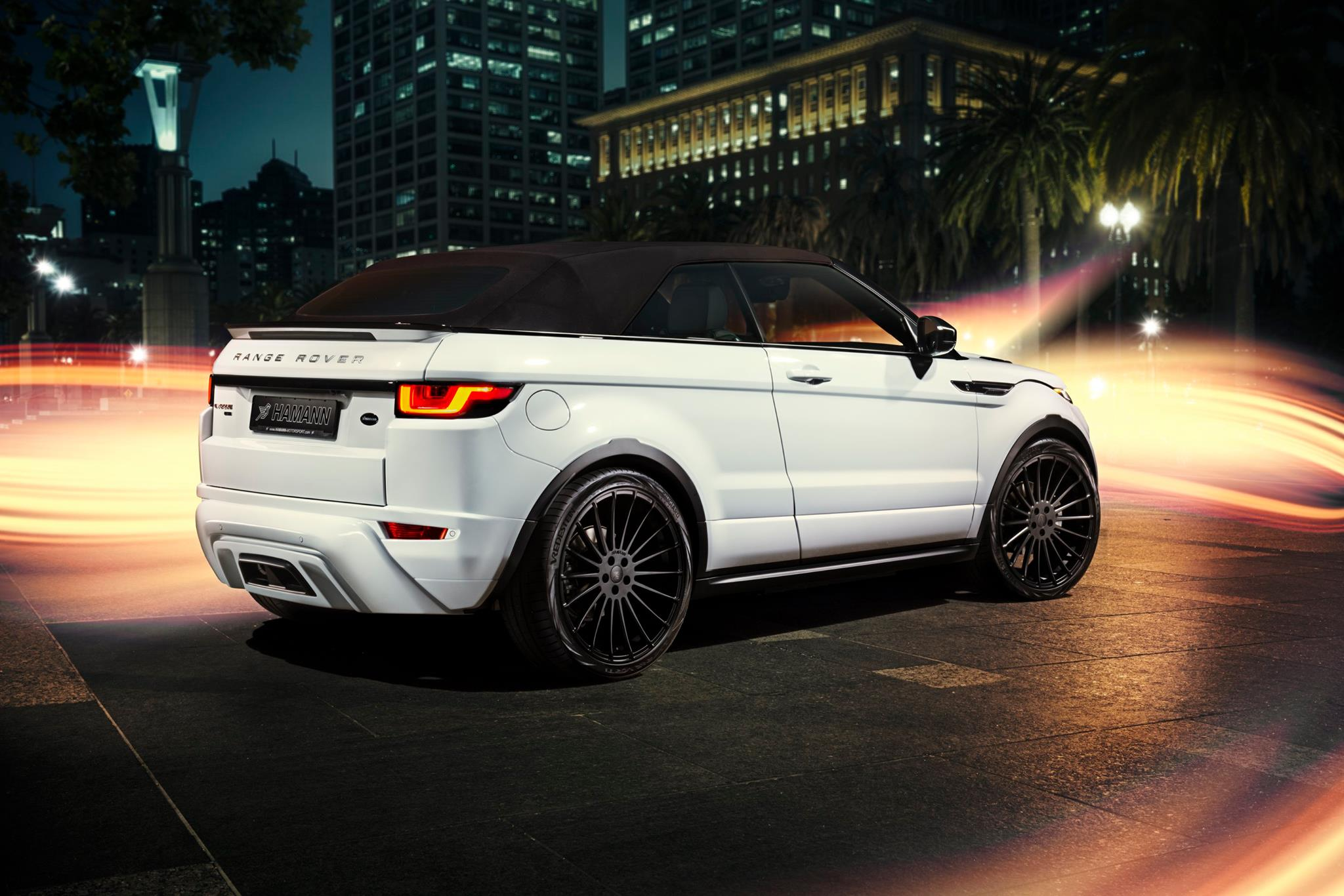 hamann range rover evoque cabrio makes video debut autoevolution. Black Bedroom Furniture Sets. Home Design Ideas