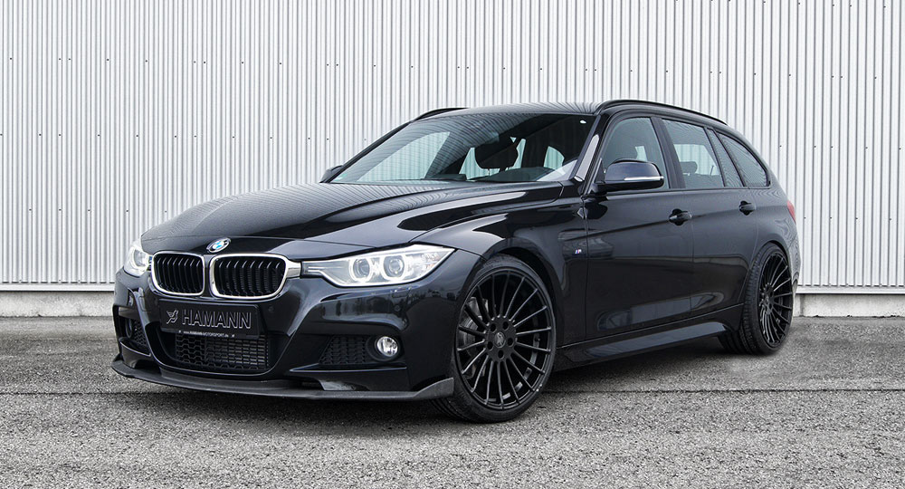 hamann releases new tuning kit for f31 3 series touring models autoevolution. Black Bedroom Furniture Sets. Home Design Ideas