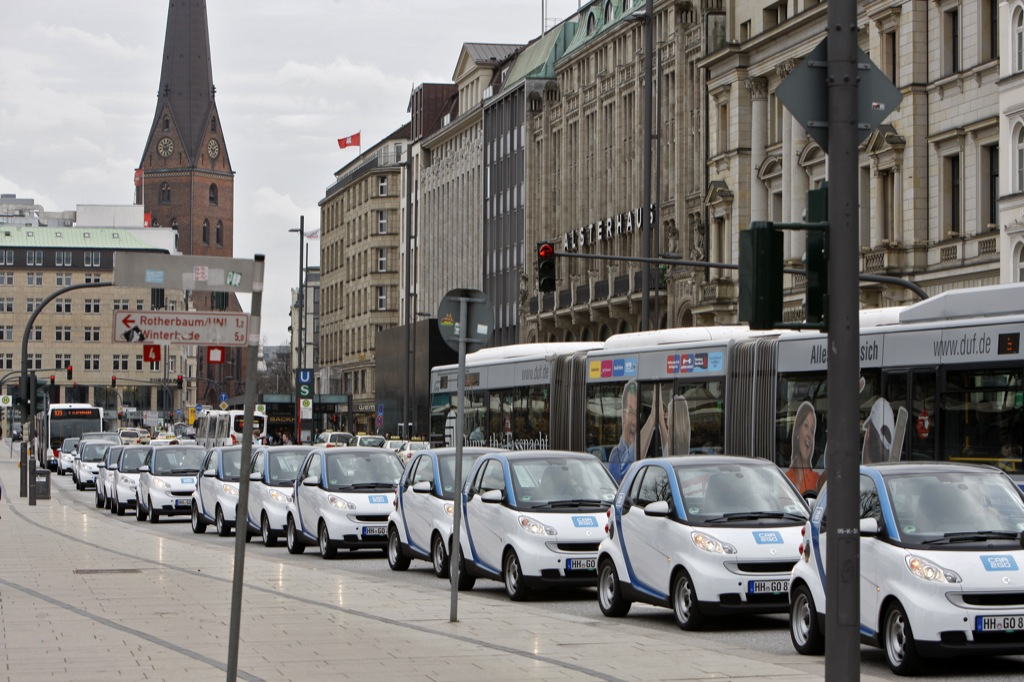 hamburg gets 300 smart fortwo vehicles via car2go autoevolution. Black Bedroom Furniture Sets. Home Design Ideas