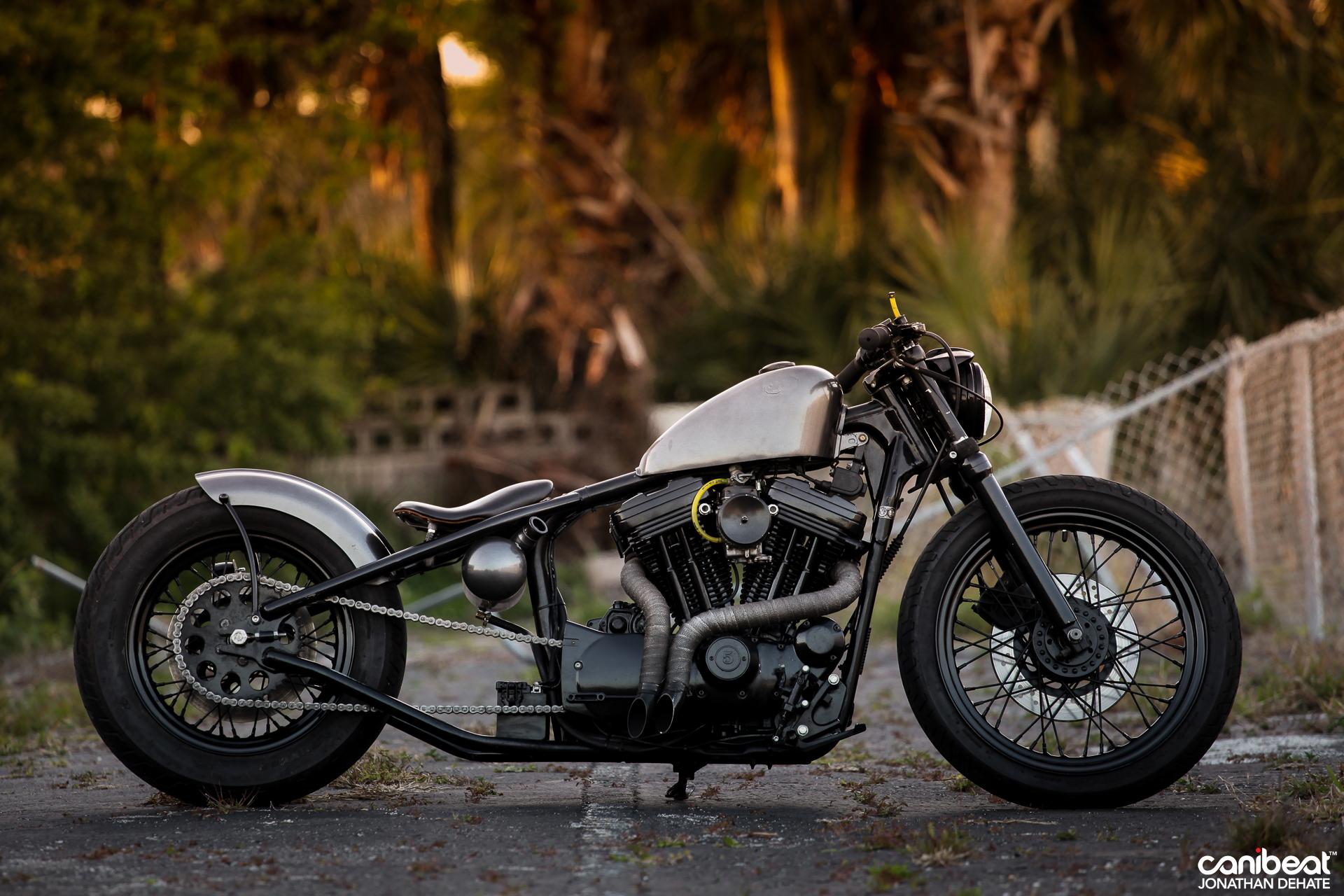 Hhandmade Harley Sportster By Matt Waln