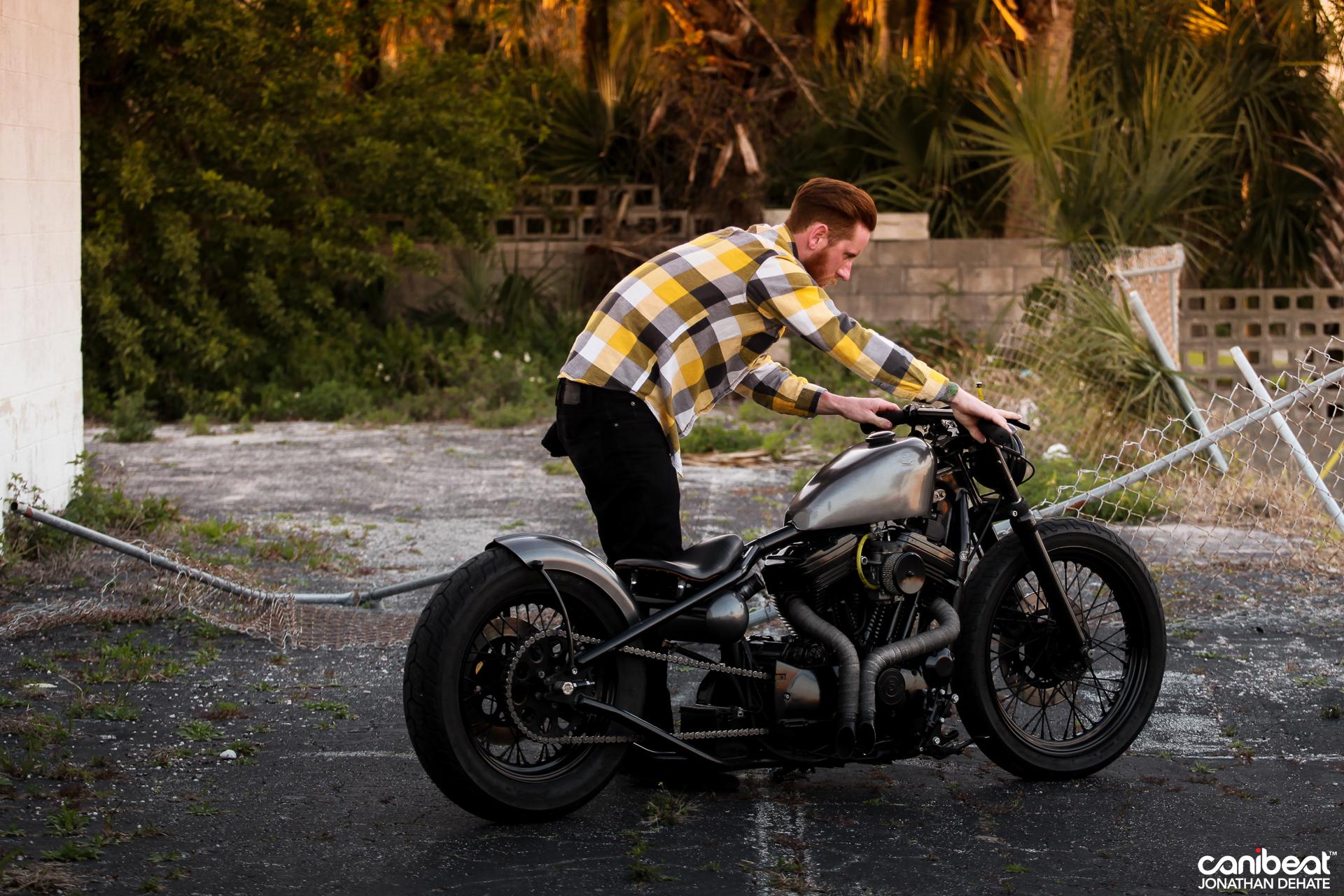 Hand Made Killer Harley Sportster By Matt Waln Autoevolution