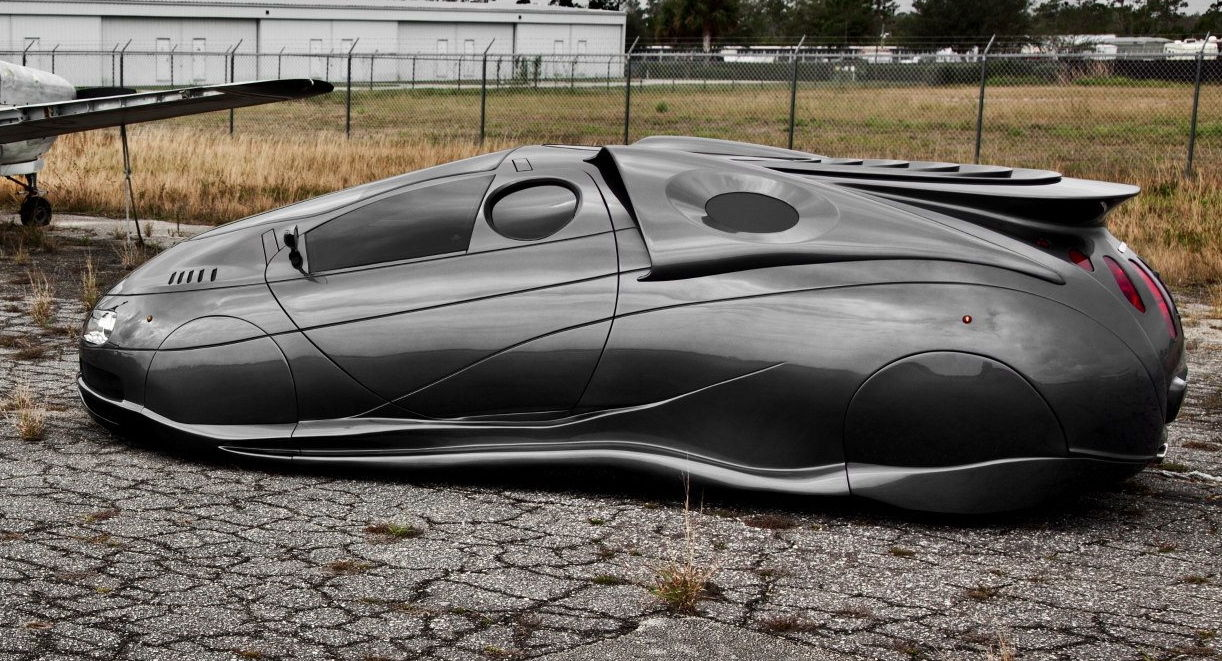 Handmade Science Fiction Alien Car Is for Sale [Video] - autoevolution