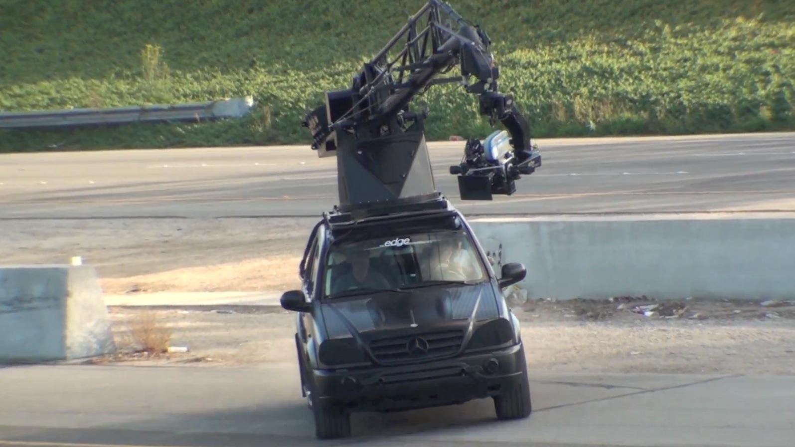 Hangover 3 Leaked Footage Mercedes E250 Cabrio Giraffe