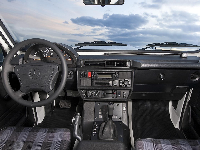 Hardcore Mercedes Benz G Class W461 Professional Discontinued Autoevolution