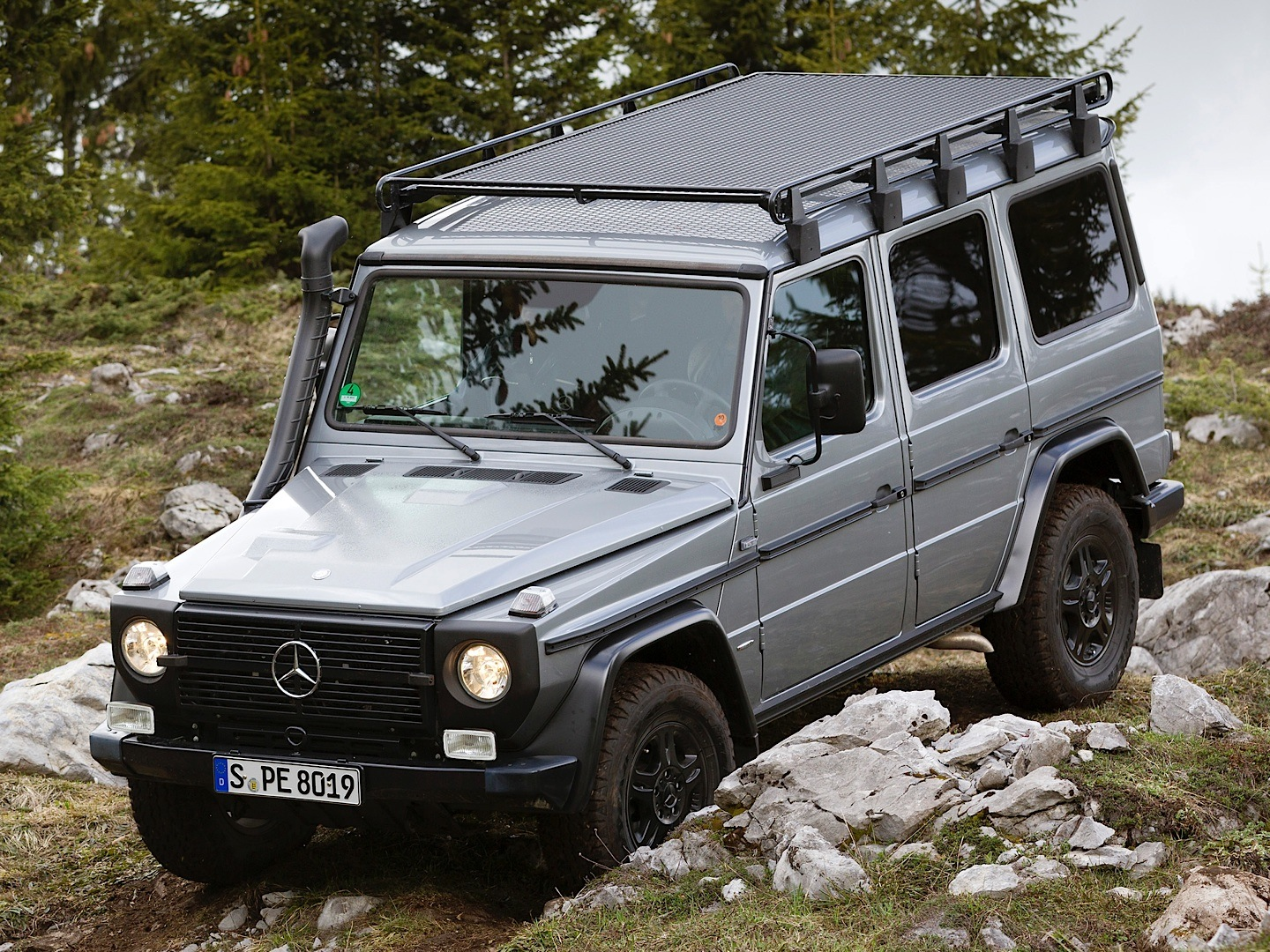 Hardcore Mercedes-Benz G-Class W461 Professional Discontinued