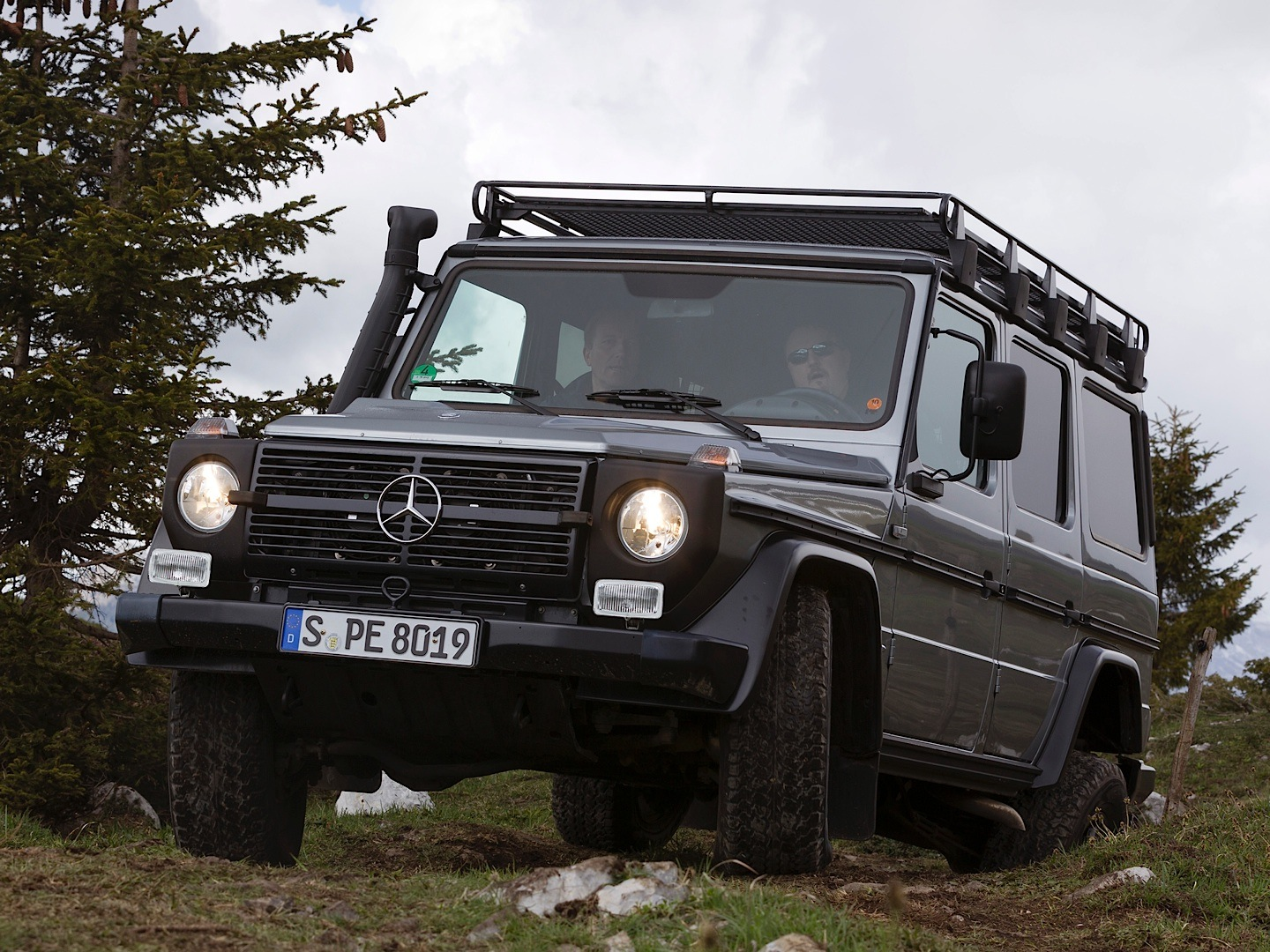 Hardcore Mercedes Benz G Class W461 Professional Discontinued Autoevolution