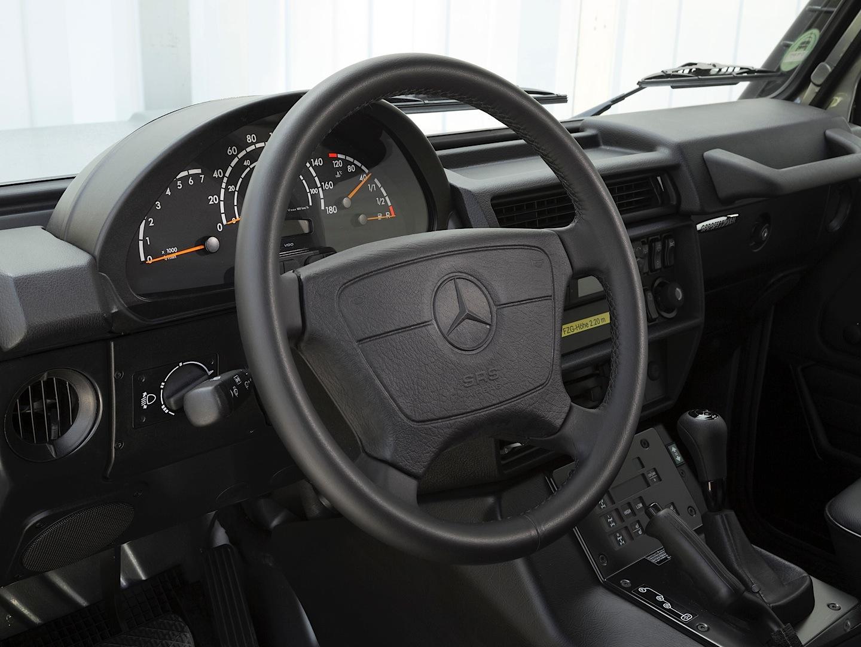 Mercedes Benz Logo >> Hardcore Mercedes-Benz G-Class W461 Professional Discontinued - autoevolution