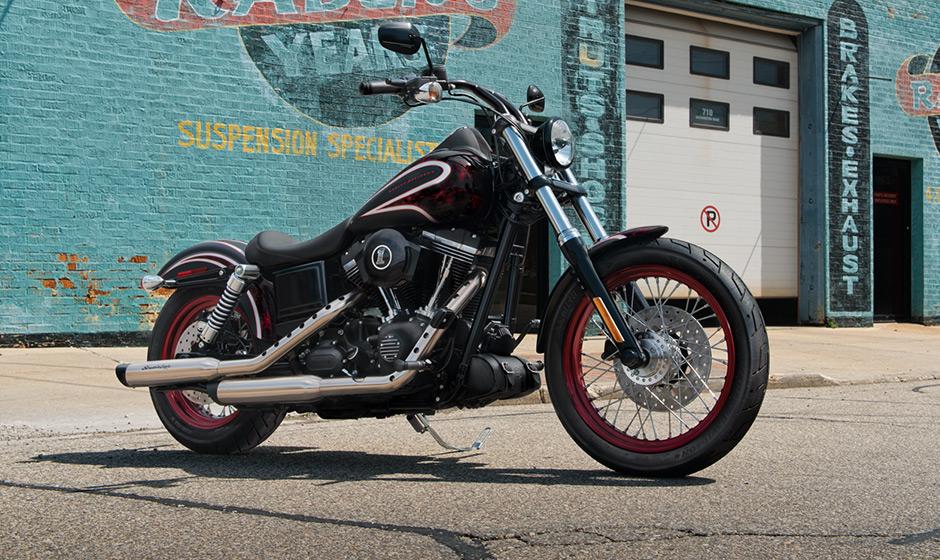 Harley-Davidson 2014 Dyna Street Bob FXDB Pictures Bonanza
