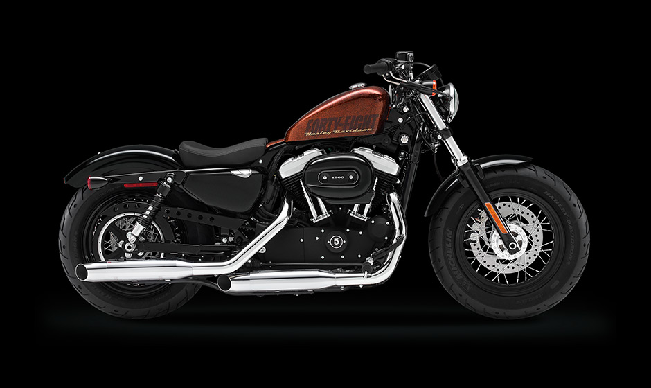 Harley-Davidson 2014 Forty-Eight in All Its Splendor - Photo GalleryHarley Davidson 48 2014