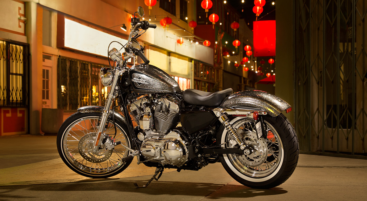 Harley-Davidson 2014 Seventy-Two Brings back the '70s Chopper Style - autoevolution