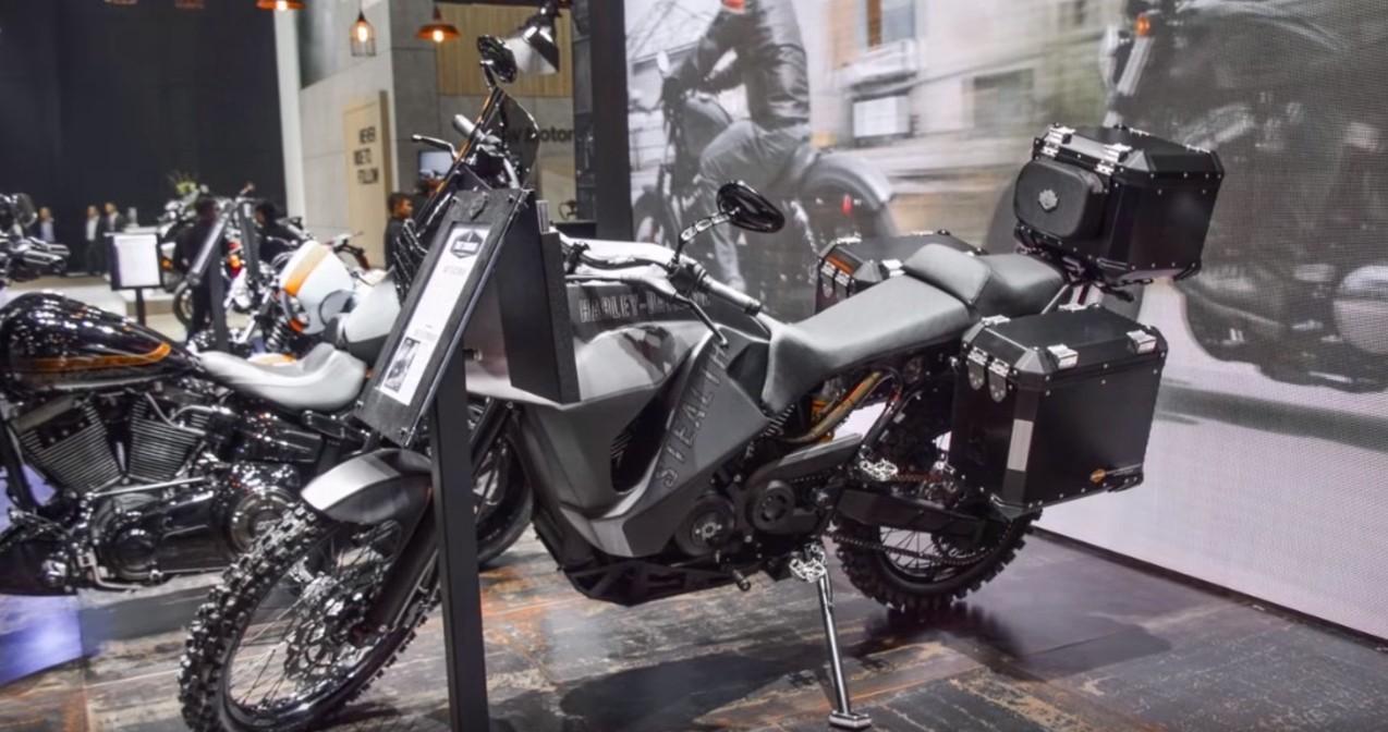 Harley Davidson 750 Stealth Adventure Bike Breaks Cover In
