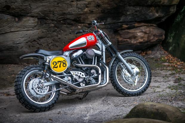 Harley Davidson Goes Husqvarna In Ss Amp C S Dreams