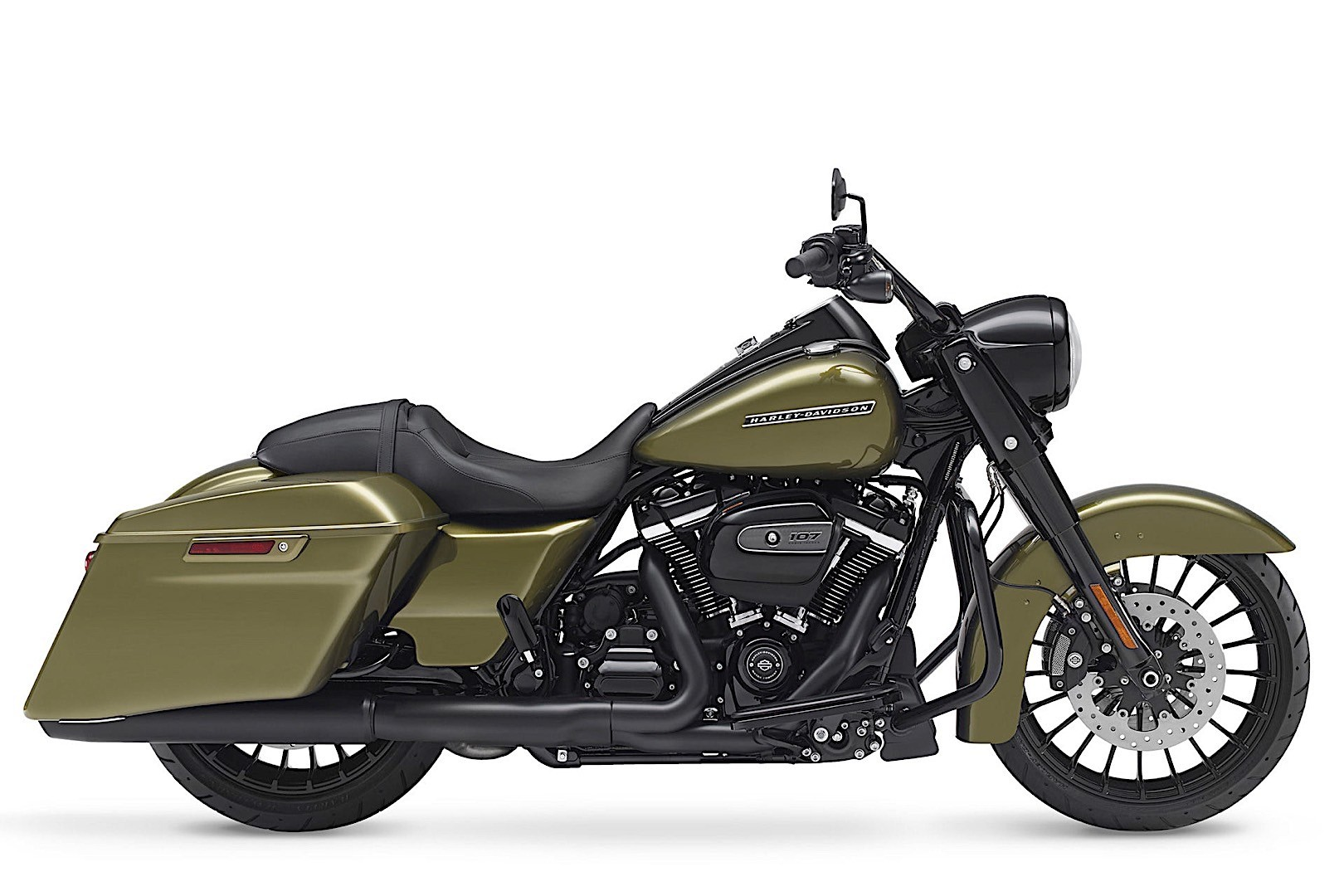 harley davidson introduces 2017 road king special autoevolution. Black Bedroom Furniture Sets. Home Design Ideas