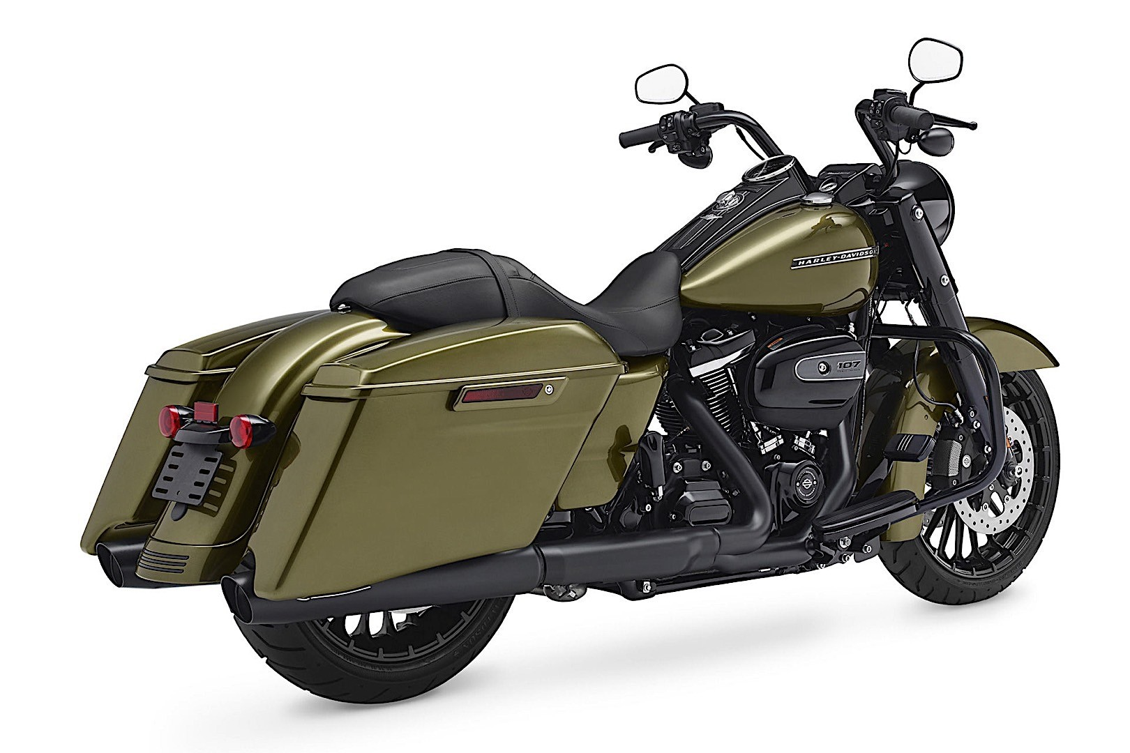 harley davidson introduces 2017 road king special. Black Bedroom Furniture Sets. Home Design Ideas