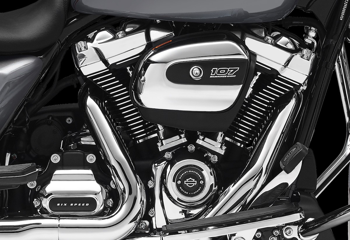 Harley-Davidson Reveals New Milwaukee-Eight V-Twin Engine ...