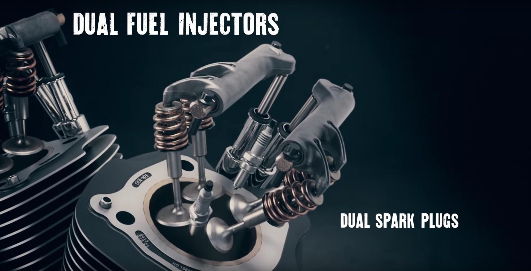 ... Harley-Davidson Milwaukee-Eight engine ...