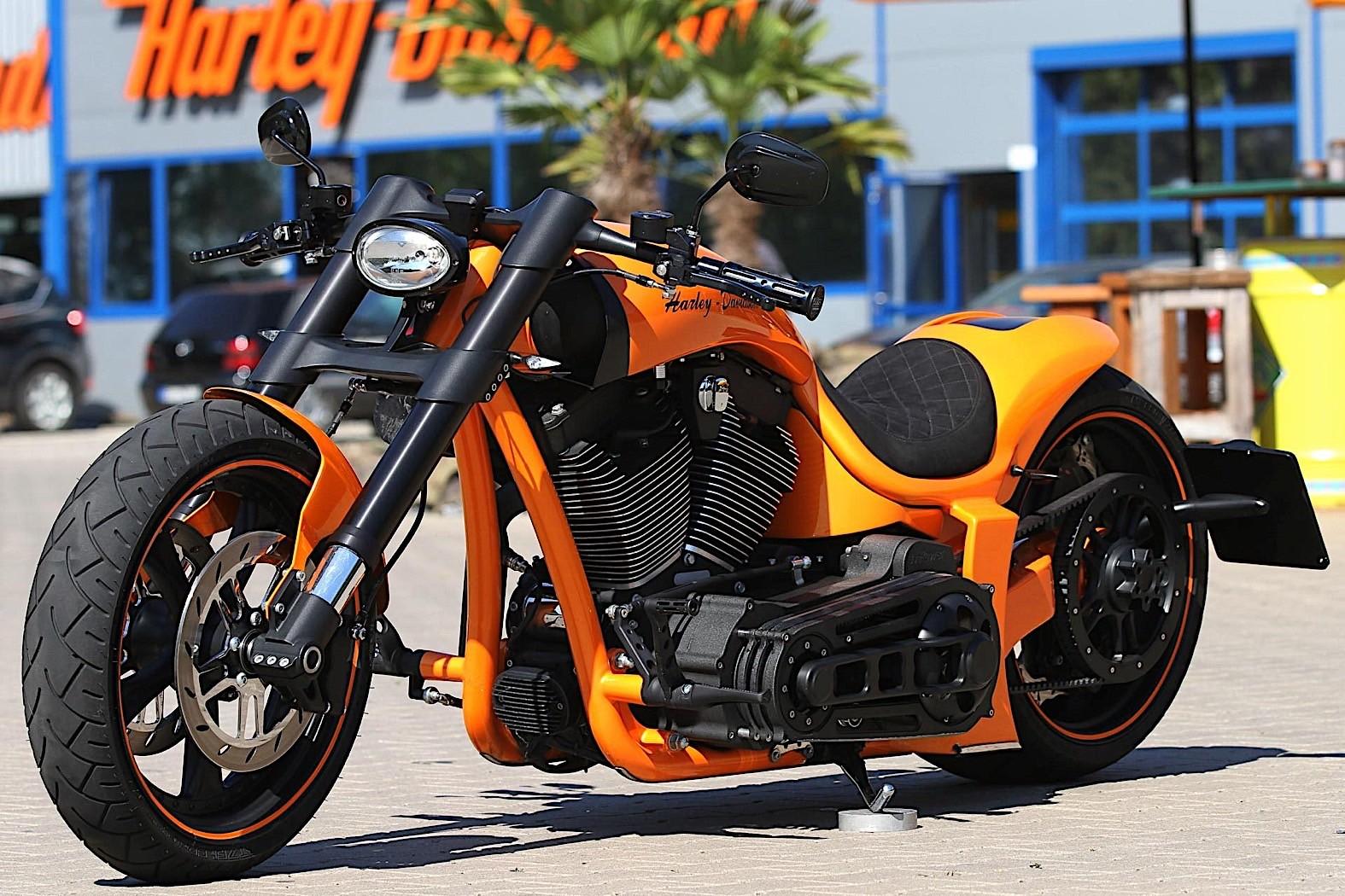 Harley Davidson   Return of the Cafe Racers