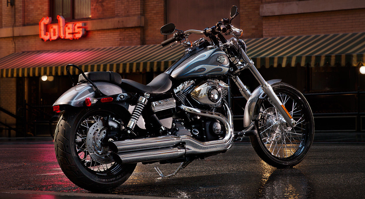 Harley Davidson Shows The 2014 Dyna Wide Glide Fxdwg Autoevolution