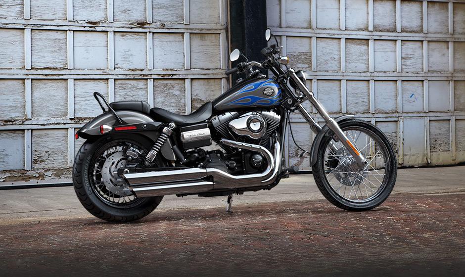 Harley Davidson Dyna Wide Glide Dashboard