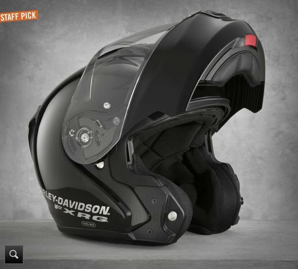 Harley Davidson Shows The Fxrg Modular Helmet Autoevolution