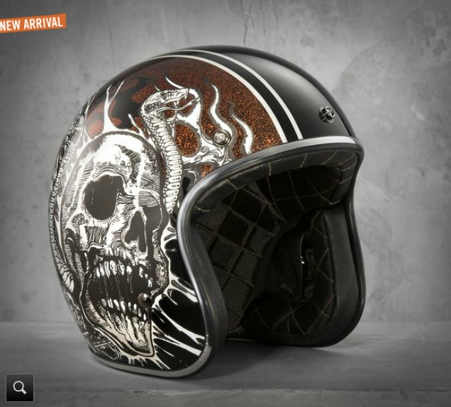 Harley-Davidson Shows Two New Black Label Helmets