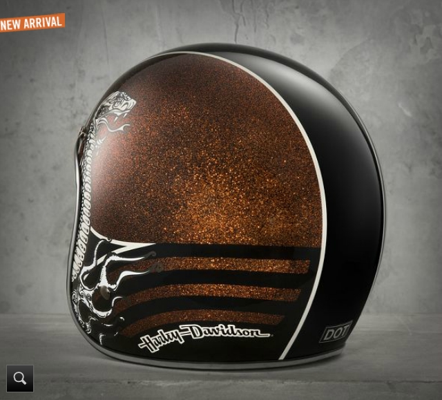 Harley Davidson Shows Two New Black Label Helmets
