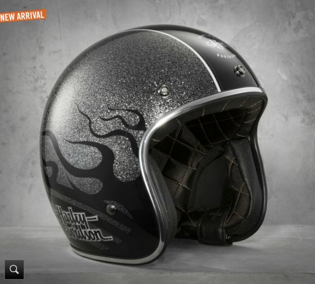Harley Davidson Shows Two New Black Label Helmets