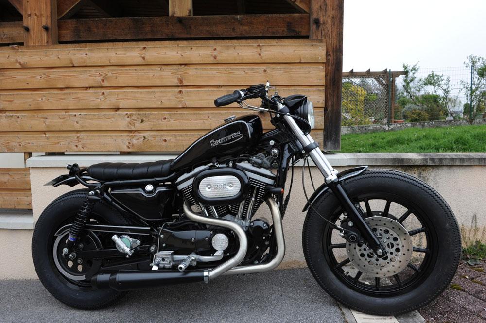 Harley Davidson Sportster 1200 The Retro Way Autoevolution