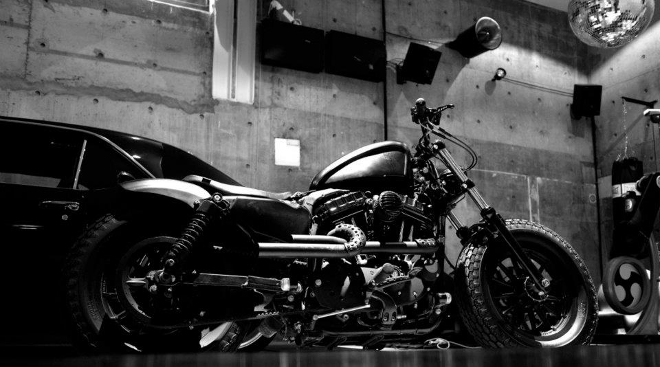 Harley Davidson Sportster 883 Becomes Iron Guerrilla