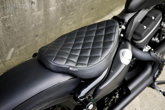 Iron 883 Custom >> Harley-Davidson Sportster 883 Becomes Iron Guerrilla - autoevolution