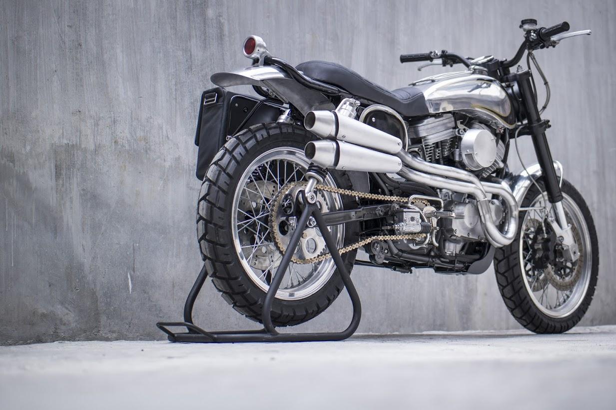 Harley Davidson Sportster 883 Becomes Sizzling Hot